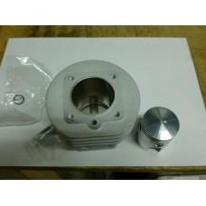 aluminium cilinder met zuiger met 3e spoelpoort 39,5 uitvoering